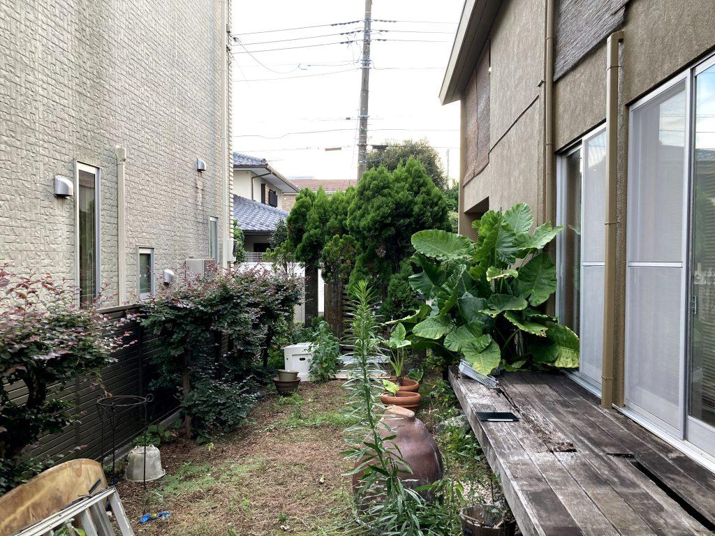 お庭は確かに要お手入れ