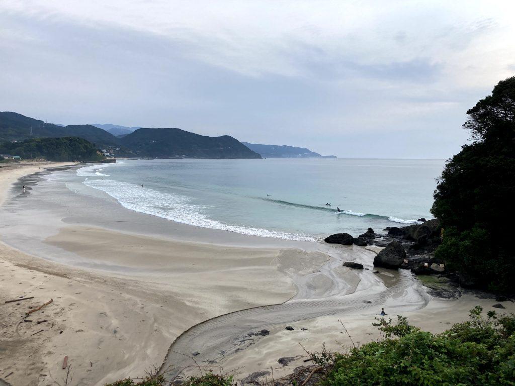 伊豆のビーチ
